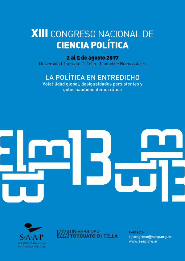 XIII Congreso Nacional de Ciencia Política