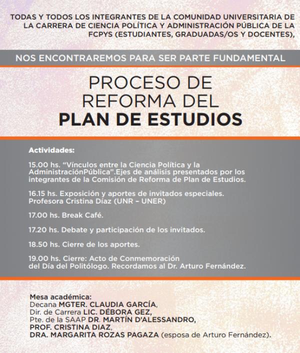 Día del Politólogo - Homenaje al Doctor Arturo Fernández