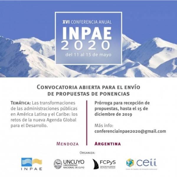 XVI Conferencia Internacional de la Red INPAE 2020